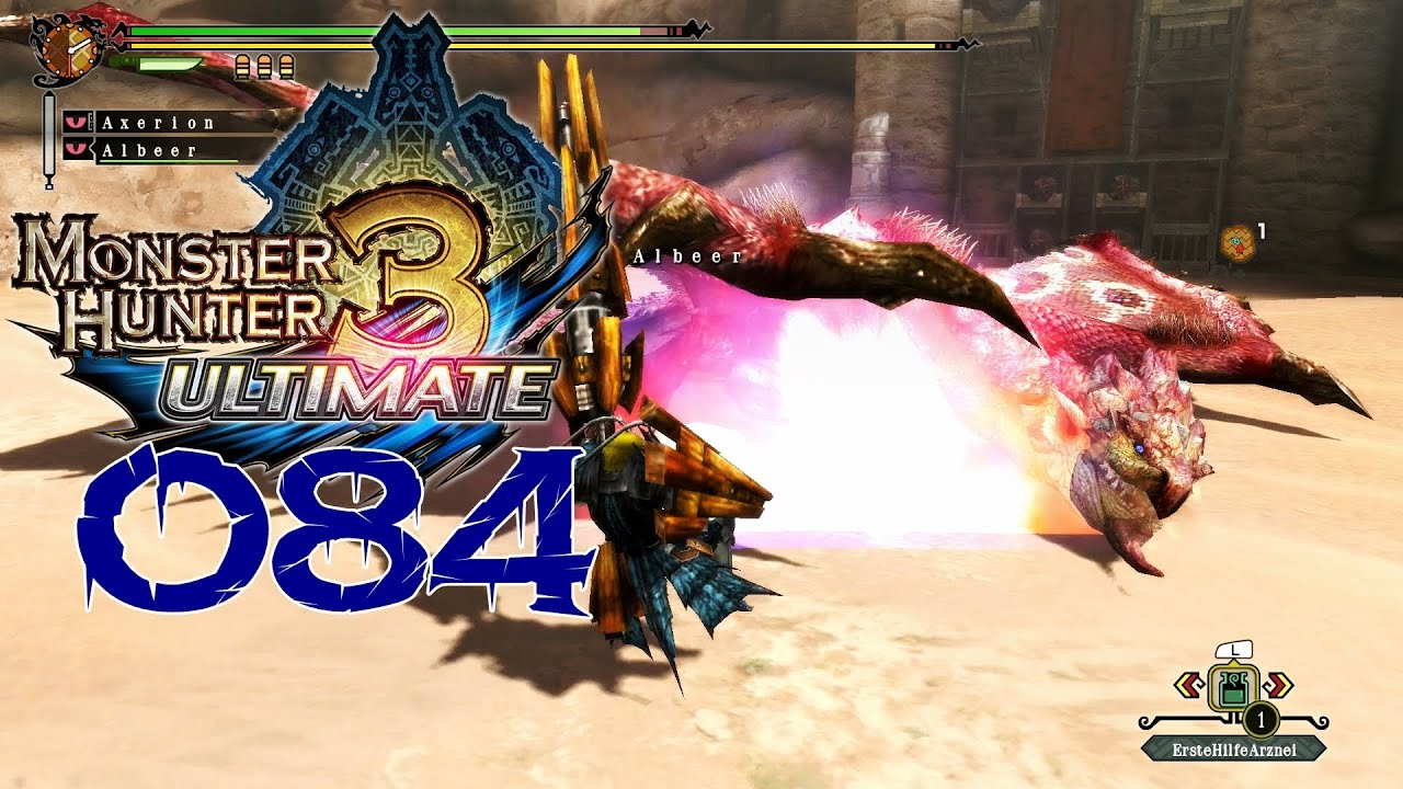 monster hunter 3 ultimate online spielen