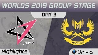 JT vs GAM Highlights Worlds 2019 Main Event Group Stage J Team vs GAM Esports by Onivia