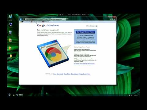 Google I/O 2011: HTML5 Today with Google Chrome Frame