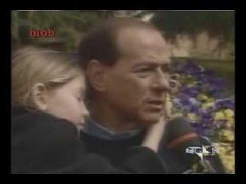 Il pensiero di Berlusconi nel 1994 con la figlia in braccio