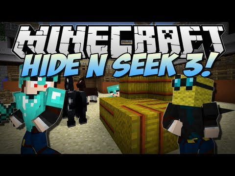 Minecraft | HIDE N SEEK 3! (NEW Animal Village Map!) | Minigame