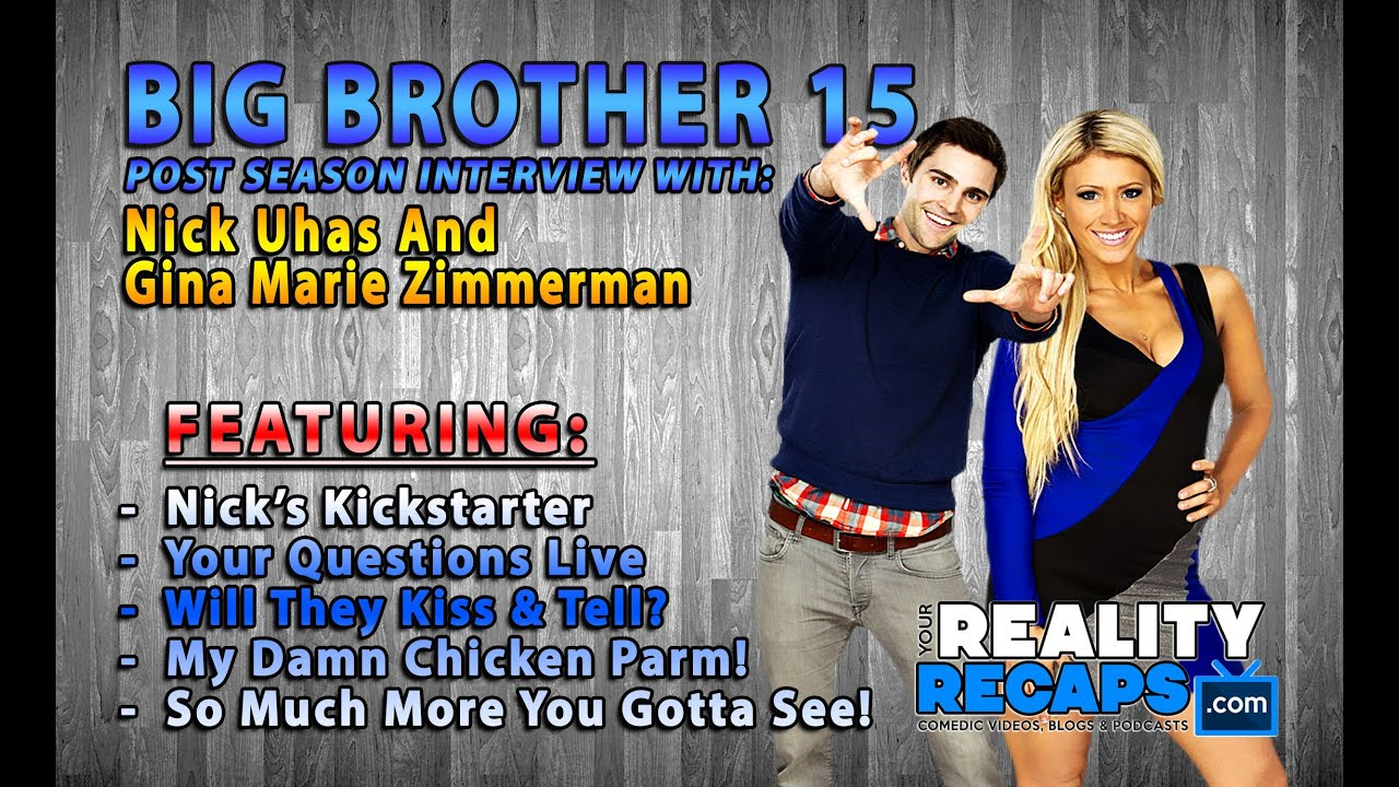 BIG BROTHER 15: Live With Gina Marie & Nick Uhas! - YouTube