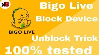 Bigo live Ban Id Solution
