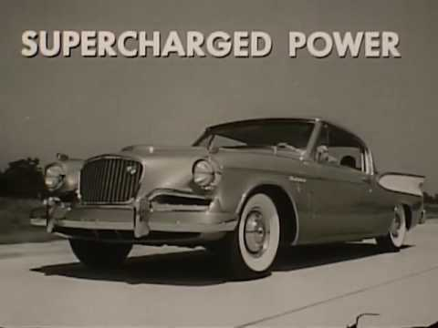 1957 Studebaker Golden Hawk and Station Wagon - Commercial