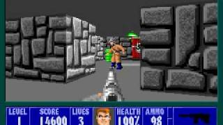 Wolfenstein 3D: Level 1-2