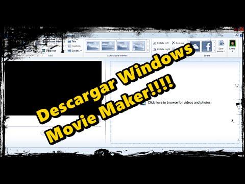 Como descargar Windows Movie Maker para Windows 8 y 8.1