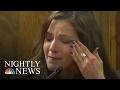 default American Sniper Chris Kyles Widow Gives Emotional Testimony | NBC Nightly News