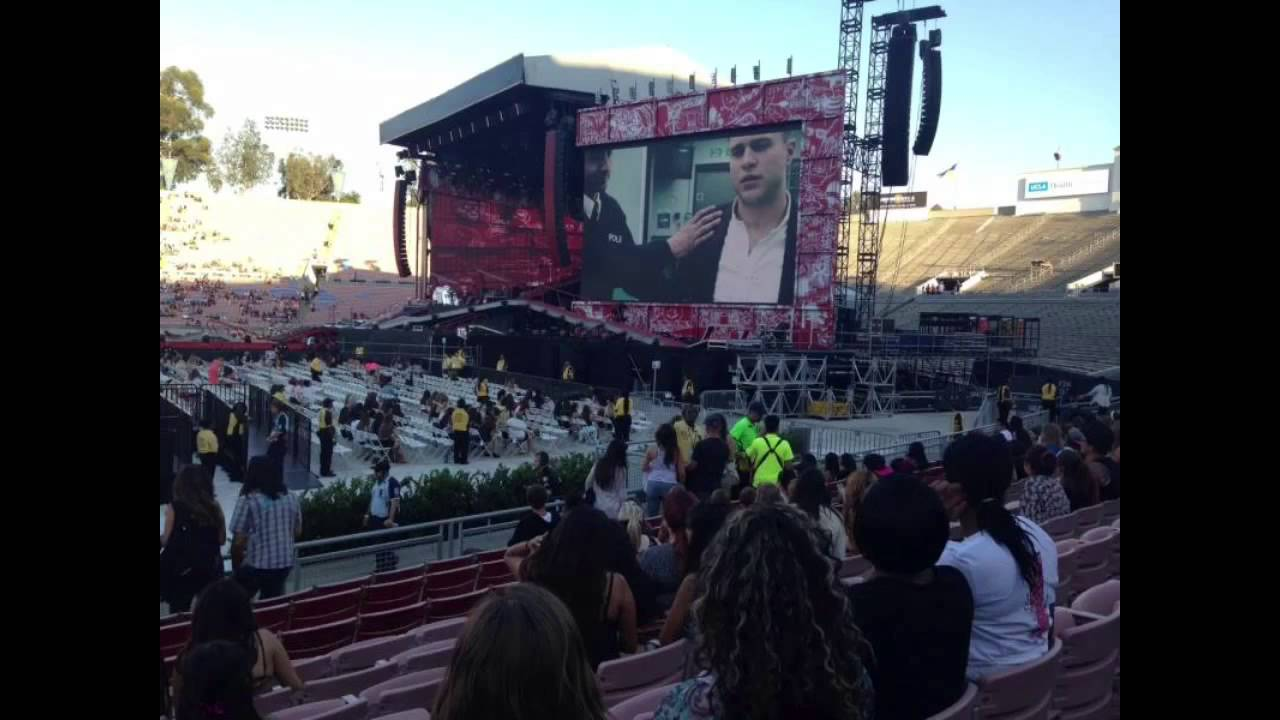 View From Floor Seats Seat Views For Otra San Diego