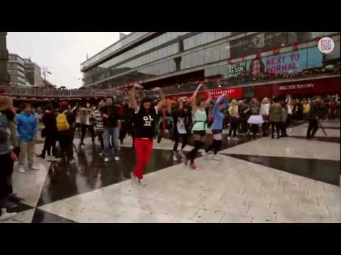 Gangnam Style Flashmob Sweden 2012 (OFFICIAL)