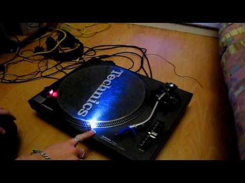 how to change the target light on a Technics SL MK2 part 5
