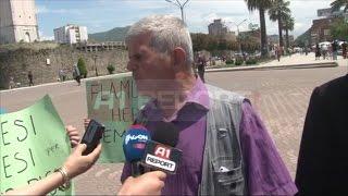 A1 Report - Protesta ne Elbasan, i ati i Flamur Pislit kercenon serish Artan Didin
