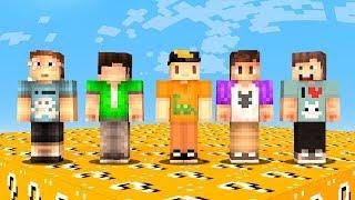 Download Lagu THE PALS vs. 1 MILLION LUCKY BLOCKS! (Minecraft) Gratis STAFABAND