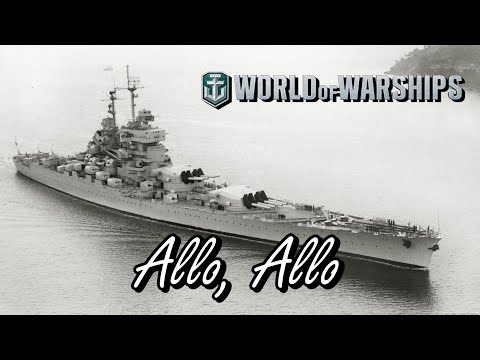 World of Warships - Allo, Allo.
