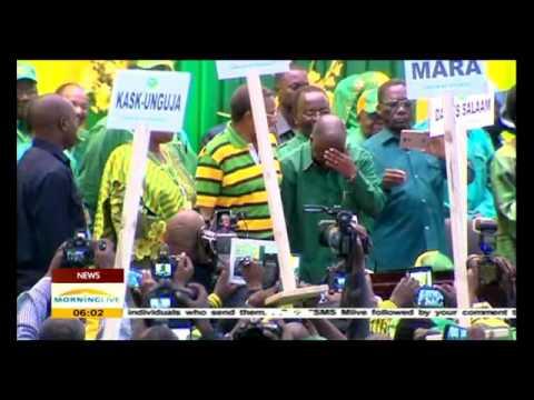 Tanzania's president-elect Magufuli to be sworn in on Thursday