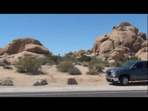 Tour: Driving through Joshua Tree National Park