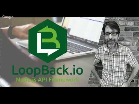 LoopBackJS Webinar with Raymond Camden