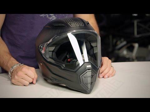 AGV AX-8 EVO Naked Carbon Helmet Review at RevZilla.com