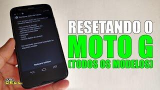 Formatando/Restaurando o Moto G (Todos os modelos) #UTICell