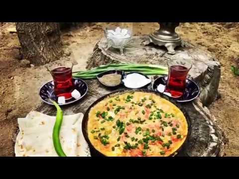 Pomidor yumurta. Омлет с помидорами. Omelette with tomato.