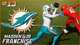 Madden 20 Miami Dolphins Franchise Ep. 13 | Insane Prospects and Insane Catches