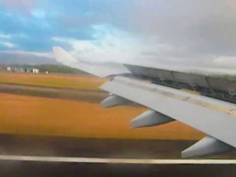 Landing at Mactan-Cebu International Airport