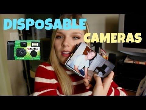why disposable cameras are the best! youtube