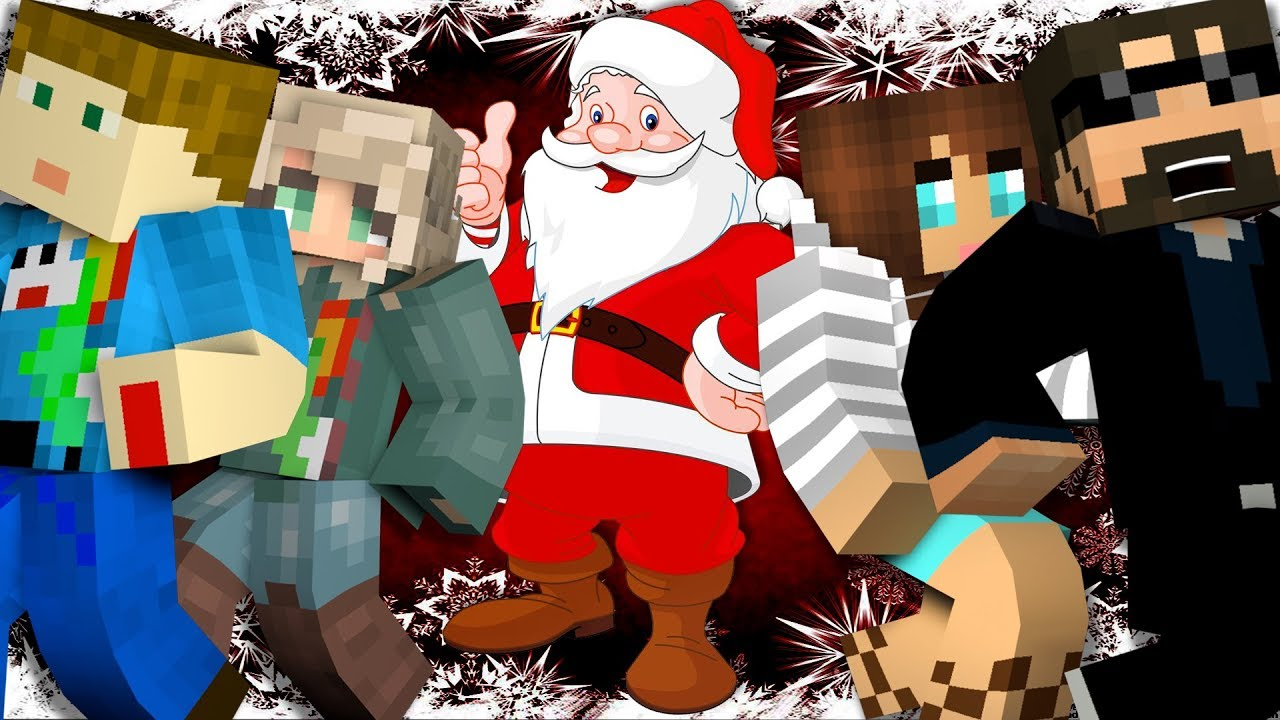 Minecraft: CHRISTMAS MURDER | MODDED MINI-GAME