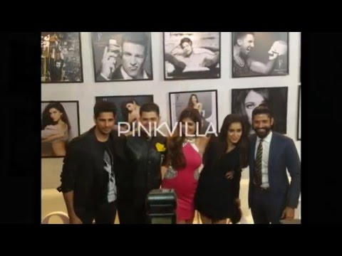 Shraddha & Farhan 'Rock On' at Dabboo Ratnani's Calendar Launch 2016