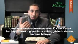 zinaya yaklaşmak - nouman ali khan - The Message