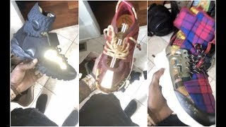 Offset Glow In The Dark Versace Sneaker Collection