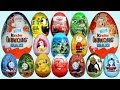 Youtube Thumbnail 20 Surprise Eggs Kinder Surprise Maxi Mickey Mouse Cars 2 Disney Pixar Thomas & Friends