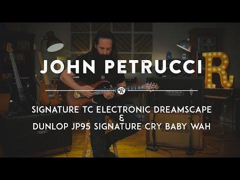 John Petrucci Demos His TC Electronic Dreamscape & Dunlop JP95 Wah | Reverb Gear Demo