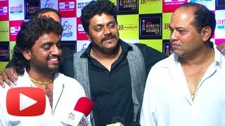Deva Tujhya Gabharyala! - Duniyadari Team At Big Marathi Entertainment Awards 2013 Red Carpet