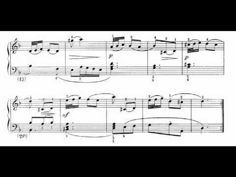 Скарлатти, Доменико - Соната для фортепиано, K 357