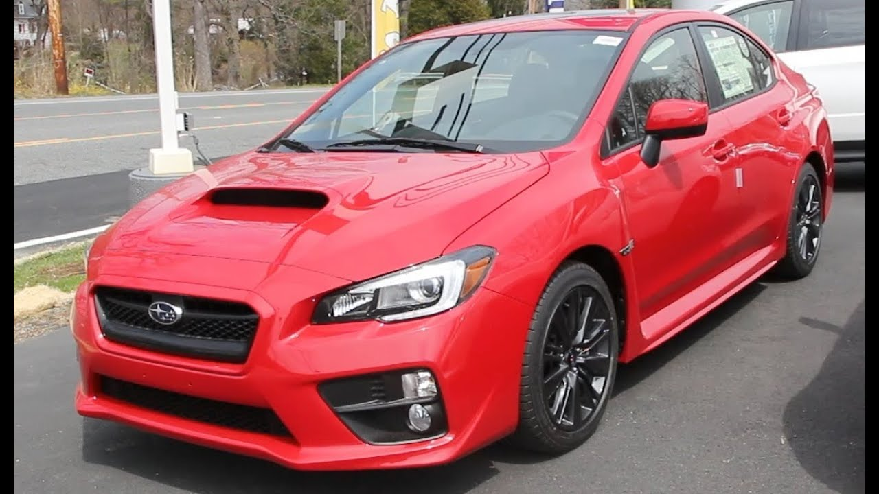 Lightning Red 2015 Subaru Wrx Walk Around Youtube
