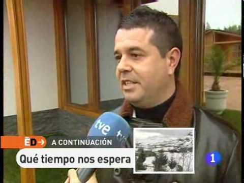 España Directo visita nuestra exposición de Casas de Madera Prefabricadas