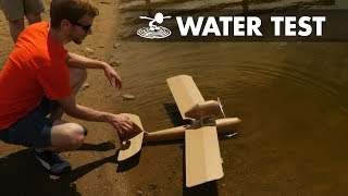 Will it float? Porco Rosso ANIME AIRPLANE Prototyping V2