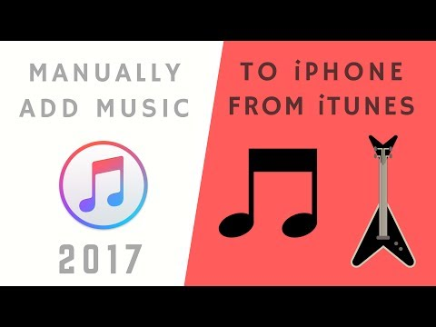 How to manually add Music to iPhone, iPad or iPod Touch from iTunes Stepstep!