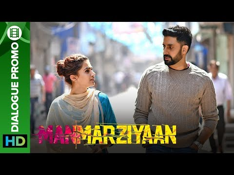 Why did Rumi agree to marry Robbie? | Manmarziyaan | Dialogue Promo | Taapsee, Abhishek, Vicky