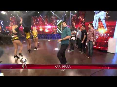 Showmatch 2014 - El desopilante baile de José María al ritmo de Kari Nara