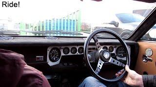 1970 Lamborghini Urraco S - Ride!