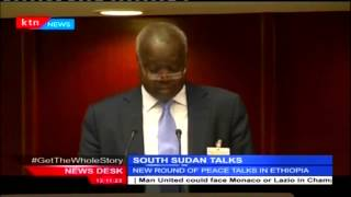 A New Round Of South Sudan Peace Talks Got Underway In Ethiopia