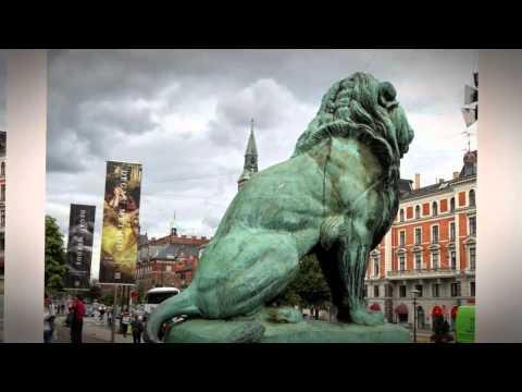 Siddende Løve af Antoine-Louis Barye