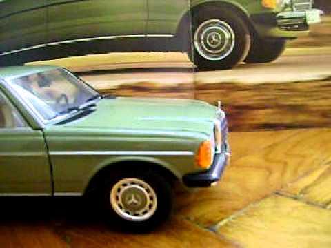 Mercedes W123 240D . Beczka. modell 1:18 .Revell DIESEL . POLAND vol 1/2