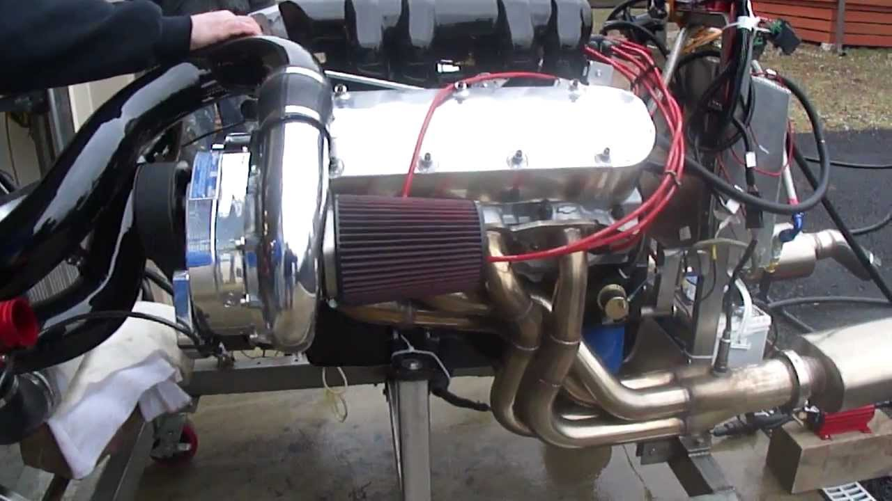 Supercharged Chevy Bb Zz502 Ramjet Engine Run Youtube