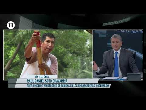 Preocupa a vendedores de Xochimilco limite de alcohol en  chinampas