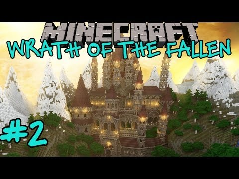 Minecraft: Wrath of the Fallen Custom Adventure Map Part 2