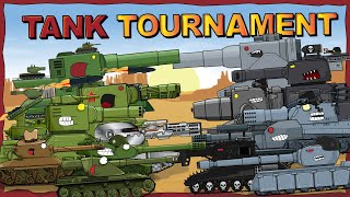 """Tank Tournament - full 2nd season plus Bonus"" - Cartoons about tanks"