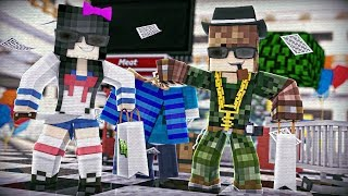 Minecraft Murder: ASSASSINOS DO SHOPPING (MURDER)