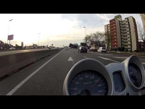 Honda Twister CBX 250 - 140 km/h